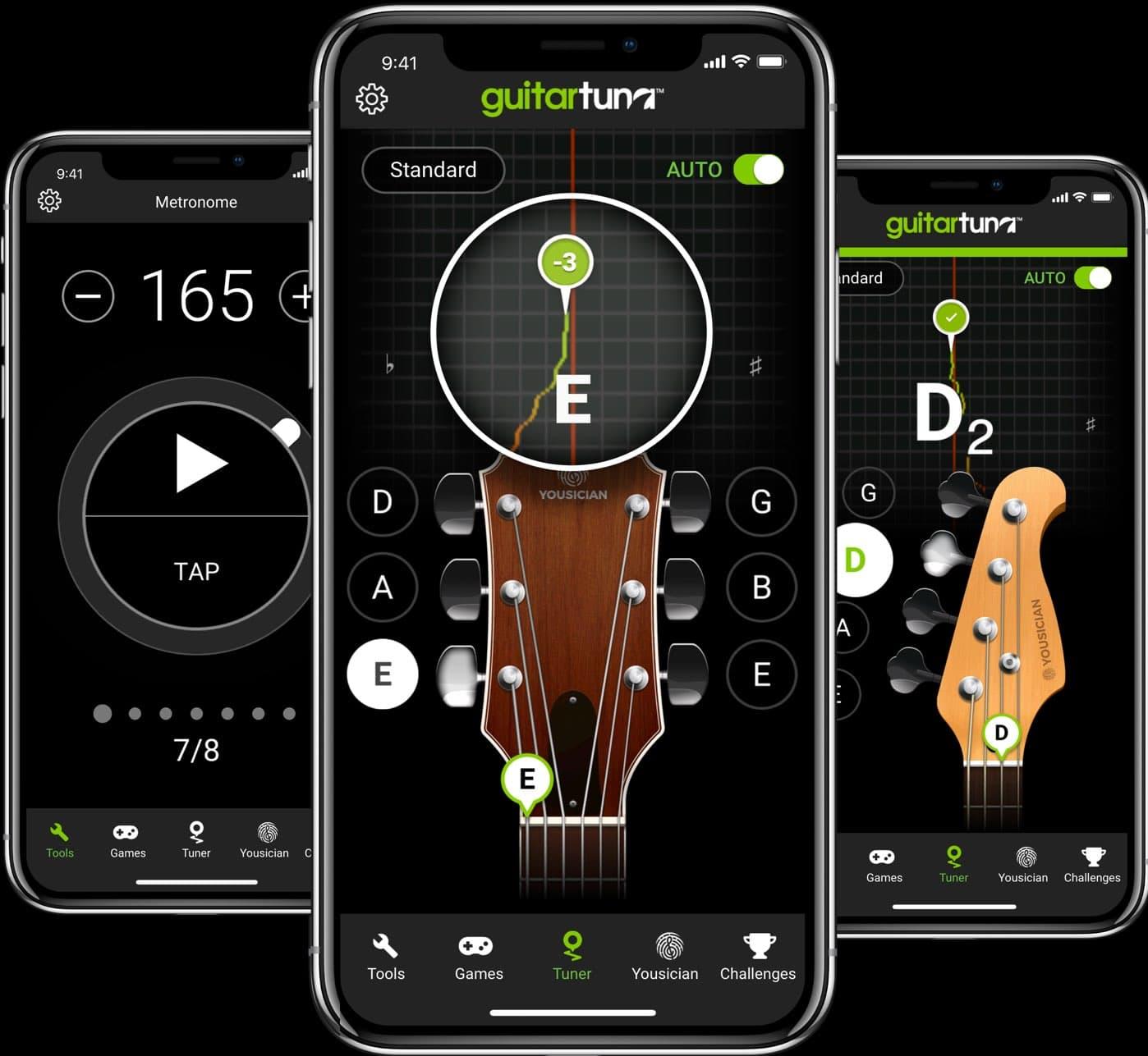 GuitarTuna app preview