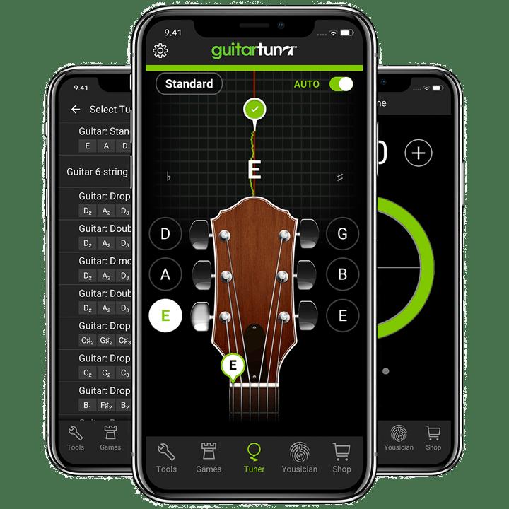 guitar tuner the best free guitar tuner app. Black Bedroom Furniture Sets. Home Design Ideas