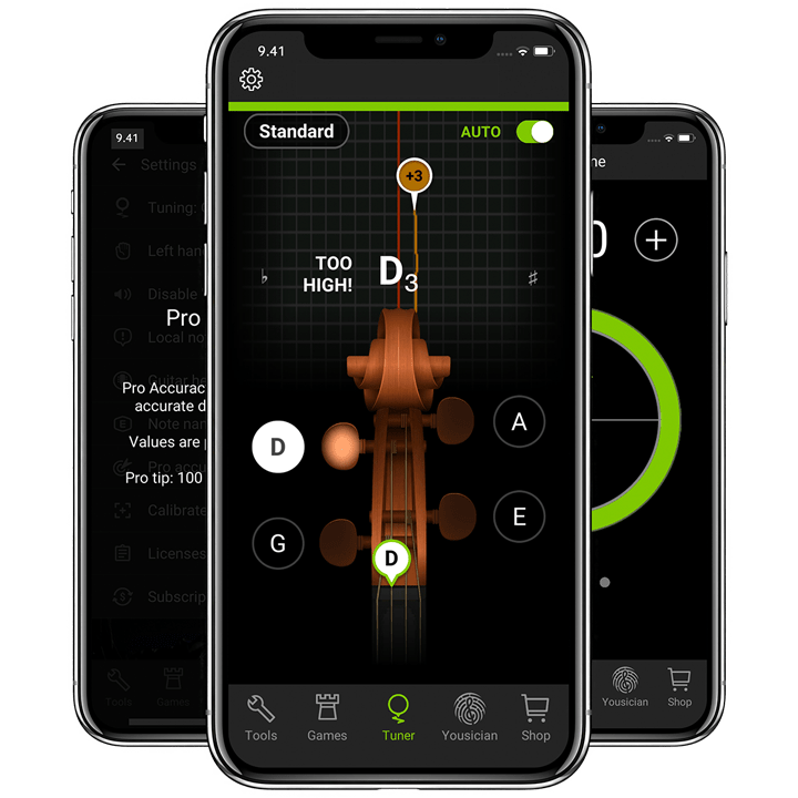 Violin Tuner | The Best Free Violin Tuner App