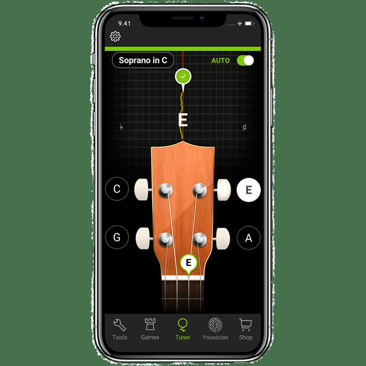 Ukulele Tuner | The Best Free Ukulele Tuner App