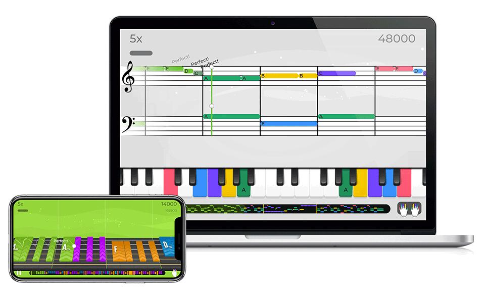 Guitar Piano Ukulele Learning Mobile App